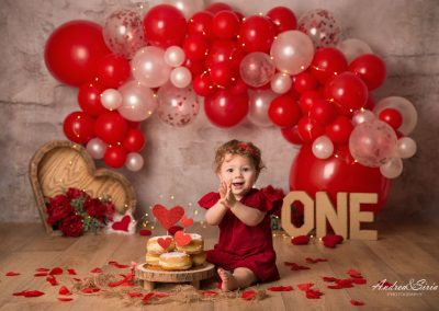 Cake smash di San Valentino
