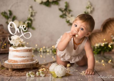 Cake smash primaverile